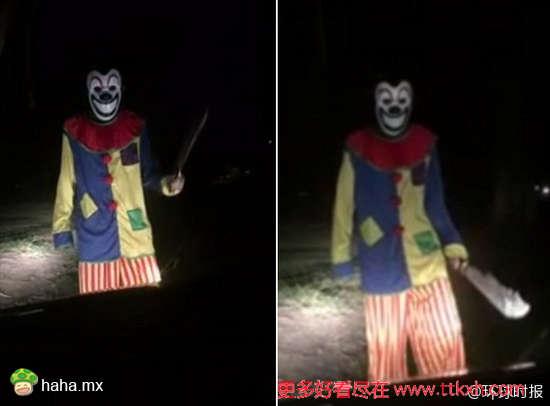 美澳多地小丑横行霸道恐怖滋扰无辜群众